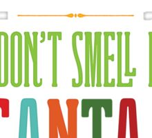 Buddy the Elf - You Don't Smell Like Santa! Sticker