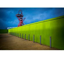 Olympic Lime Photographic Print