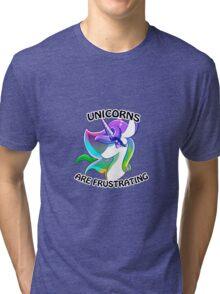 Gravity Falls Unicorn Tri-blend T-Shirt