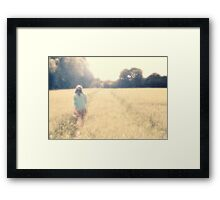 It Was Just a Dream Framed Print