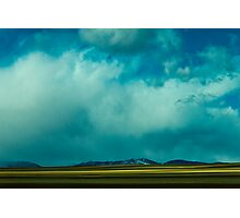 Storm Across Moves Across The Plains Photographic Print