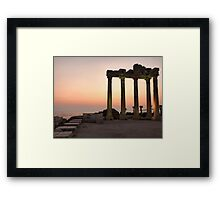 Apollo Temple  Framed Print