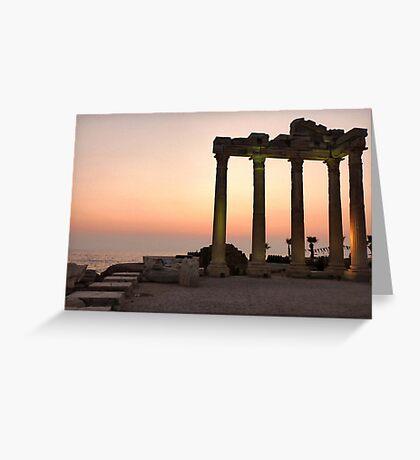 Apollo Temple  Greeting Card