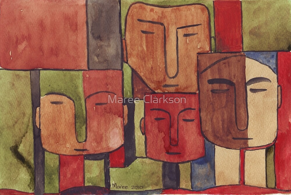 Faces of Africa - Ethnic series by Maree Clarkson