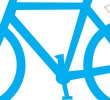 GRUMPY BIKER in blue Sticker