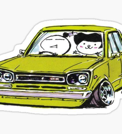 hakosuka Stanced Sticker