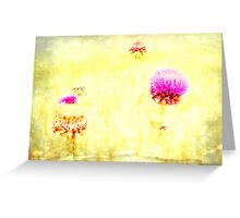 Thistle - JUSTART © Greeting Card