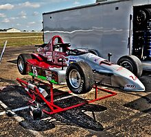C.J. McAbee's Formula 500 Car at Heartland Park Topeka by Paul Danger Kile