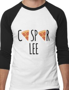 Caspar Lee - Pizza! Men's Baseball ¾ T-Shirt