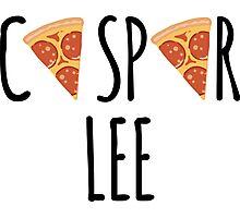 Caspar Lee - Pizza! Photographic Print
