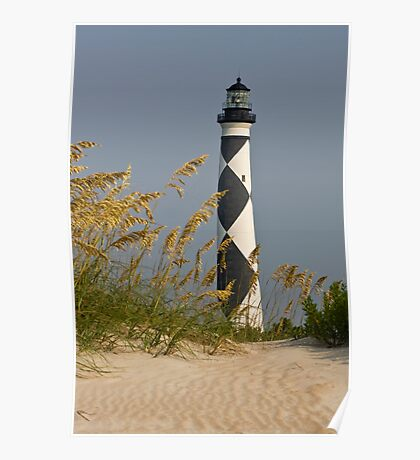 Cape Lookout Light: Sentinel of the Crystal Coast Poster