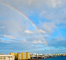 rainbow over San Juan by marcy413