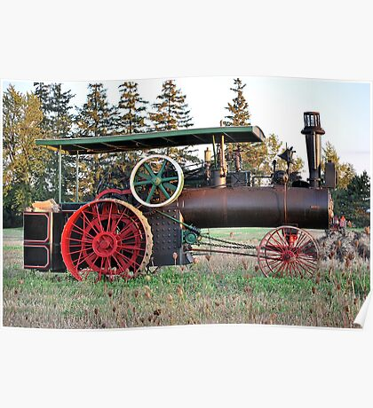The Steam Powered Tractor Poster