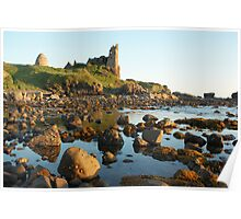Dunure Castle, Ayrshire, Scotland Poster