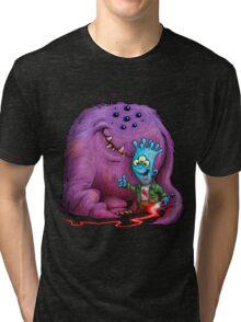 A boy and his Grogg Tri-blend T-Shirt