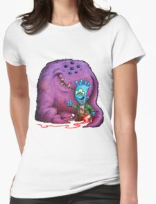 A boy and his Grogg Womens Fitted T-Shirt