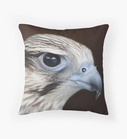 Leyla - Lugger Falcon Throw Pillow