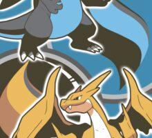 Mega Charizard x y Sticker
