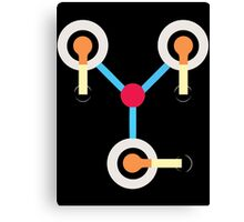 Flux Capacitor Funny Canvas Print