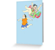 What Goes Up Greeting Card