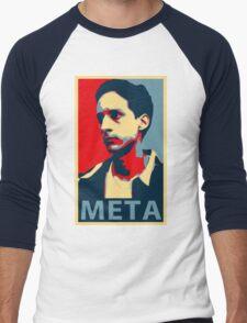 Meta Men's Baseball ¾ T-Shirt