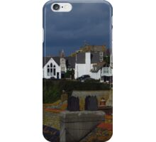 Roof Tops, Port Isaac iPhone Case/Skin