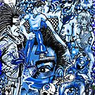 """""""True-ly Blue-ly"""" by Steve Farr"""