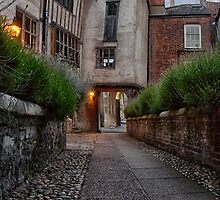 Tombland Alley, Norwich by Ruski
