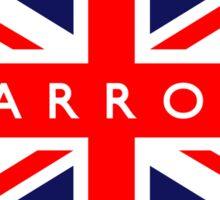 Barrow UK British Union Jack Flag Sticker