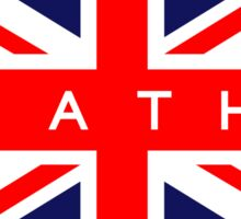 Bath UK British Union Jack Flag Sticker