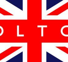 Bolton UK British Union Jack Flag Sticker