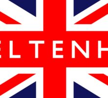 Cheltenham UK Flag Sticker