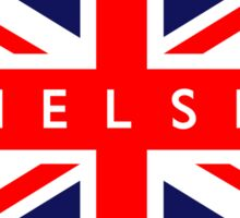 Chelsea UK British Union Jack Flag Sticker