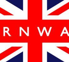 Cornwall UK Flag  Sticker