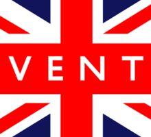 Coventry UK British Union Jack Flag Sticker