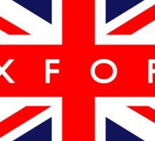Oxford UK British Union Jack Flag Sticker