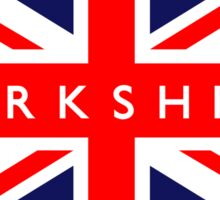 Yorkshire UK British Union Jack Flag Sticker