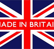 Made in Britain UK British Union Jack Flag by ukedward