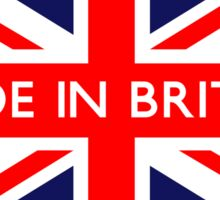 Made in Britain UK British Union Jack Flag Sticker
