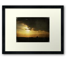 A Small World After All Framed Print
