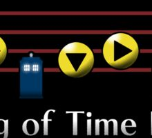 Song of Time Lords Sticker