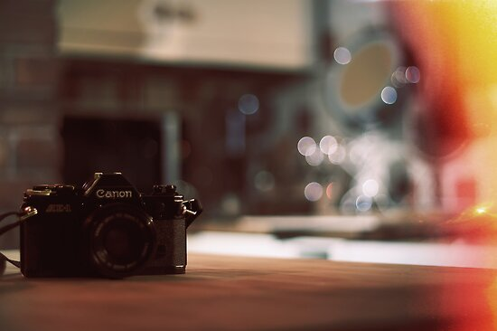 Canon AE-1 by cavan michaelides