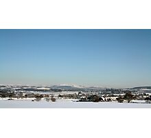 Ormskirk Snow Scene Photographic Print