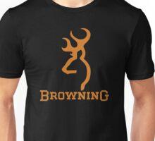 Mens NWT Browning Argyle Buckmark Short Sleeve Tee Black T-Shirt Unisex T-Shirt