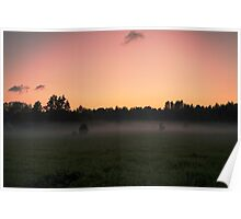 Sunset in Hiiumaa Poster