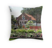 Going Dutch Throw Pillow