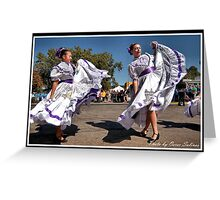 FIESTA Indianapolis 8 Greeting Card