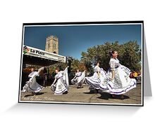 FIESTA Indianapolis 10 Greeting Card