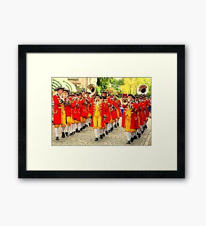 straatorkest Framed Print