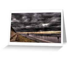 Holehaven, Canvey Island, Essex, UK Greeting Card